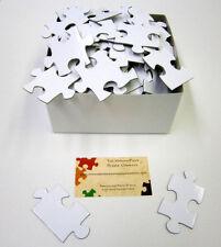 200 Piece Alternative Wedding Guest Book Puzzle White Blank Puzzle Pieces