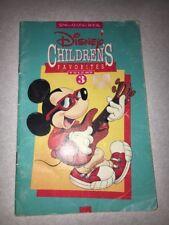 Vintage Disney Children's Favorites Volume 3 Sing-along Book Mickey Mouse