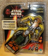 Star Wars Episode 1 Electronic Hand-Held Destroyer Droid Game New in Package