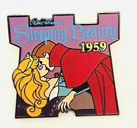 Disney SLEEPING BEAUTY #44 Of 101 Disney Movies Silver Clasp Pin
