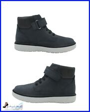 Geox Chaussures Junior Enfant Garçon J847TA Riddock bottes nubuck Bleu marine