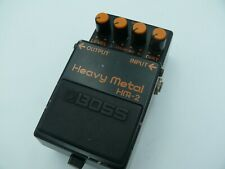 BOSS HM-2 Heavy Metal Distortion Electric Guitar Effects Pedal Used from japan