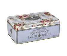 Fine English Vintage Floral Tea Tin - 100 Teabag Variety