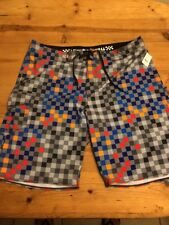 "Vans Mens Territorial 20"" Stretch Surf Swim Shorts Boardshorts Size 40 MSRP $60"