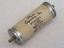 Plastic Capacitors HT 25-104 A, .1 MFD, 2500 VDCW