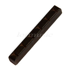 8pcs Guitar Nut for 6 String Acoustic Classical Guitar Parts Ebony 52mmX6mmX9mm