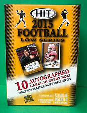 2015 SAGE HIT LOW SERIES FOOTBALL SEALED HOBBY BOX