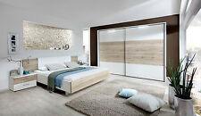 Moderne Schlafzimmermöbel-Sets aus Holzfurnier mit Nachttischen