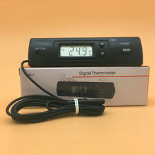 LCD Display Auto Car In-Outdoor Thermometer W/Sensor For Automotive A/C Digital