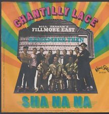 "7"" Sha Na Na Chantilly Lace / Remember Then (Kama Sutra Records)"