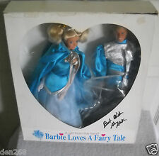 #8837 Barbie Convention 1991 Omaha, Neb, Barbie Loves A Fairytale Barbie & Ken