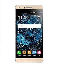 Téléphones mobiles jaunes avec android 5-7,9 MP