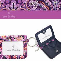 Vera Bradley Iconic RFID Campus Double ID Dream Tapestry