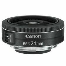 Objetivos Canon 24mm para cámaras