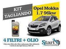 Kit Tagliando Olio Opel + Filtri Tecneco Opel Mokka 1.7 CDTI 96KW