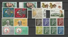 IRELAND 1963-1980 MNH LOT / COLLECTION OF (8) SETS & (2) COIL STRIPS