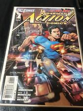 DC New 52 Action Comics 1 signed by Rags Morales