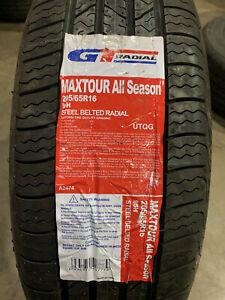 1 New 205 65 16 GT Radial Maxtour All Season Tire