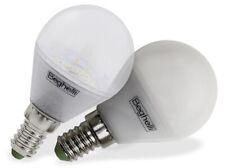 Beghelli Ecoled lampada lampadina led sfera opaca 5W E14 luce calda bianca