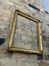 Rococo Baroque Gold Gilt & Gesso Detail Vintage Picture Frame, Small to Medium