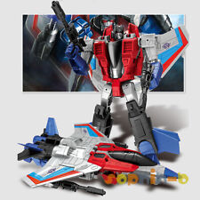 Transformed Starscream with metal part Cybertron War figure toys original box