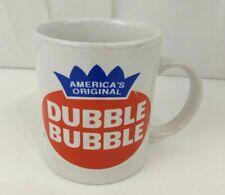 America's Original Dubble Bubble Gum Logo Advertising Coffee Cup Mug