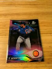 Anthony Rizzo 2021 Bowman Platinum Purple #144 /199 Cubs/ Yankees