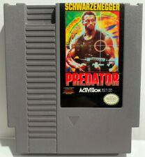 Predator for Nintendo NES Cartridge Only Authentic Clean & Tested By Activision