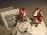 "Christmas Village ""North Pole Dolls & Santa Bear Works (3 Buildings) Dept 56"