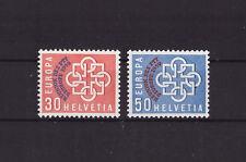Schweiz Mi.Nr.681-682 ** Postfrisch------CEPT aus 1959-----ca.40 M€-------58