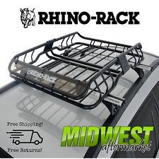 Rhino-Rack Roof Mount Cargo Basket w/ Fairing Fits 2011-2017 Jeep Grand Cherokee