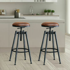 4x Levede Bar Stools Industrial Kitchen Stool Barstool Swivel Dining Chairs