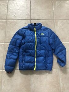 Blue and Green North Face (Boys Large)