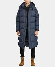 POLO RALPH LAUREN, FULL LENGTH NAVY DOWN COAT,  SMALL,  RRP:£495!  BNWT