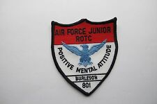 AIR FORCE JUNIOR ROTC POSITIVE MENTAL ATTITUDE BURLESON 801 PATCH