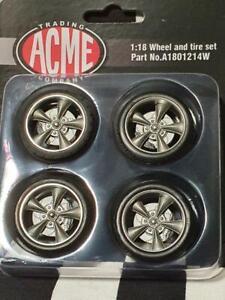 Torque Thrust 1:18th Wheel & Tyre Set by ACME USA