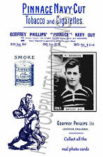 BATLEY Rugby League - Pinnace 1920's repro advertising cards
