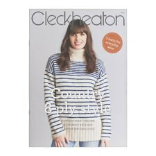 Cleckheaton Pattern Book #3014 Country 8 Ply Style 3 Knits to Make