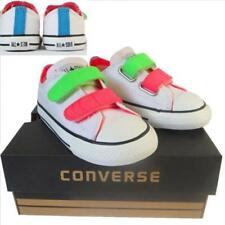 5b1de5985cdbcf Converse Baby Shoes with Hook   Loop Fasteners for Boys
