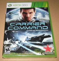 Carrier Command: Gaea Mission (Xbox 360) Brand New / Fast Shipping