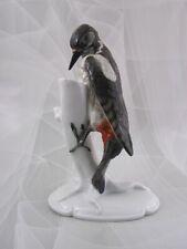 """Hutschenreuther Figur Vogel Specht """"Buntspecht"""" Miller Bird Figurine 1.Wahl"""