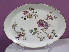 "Wedgwood England Bone China SWALLOW 9"" Utility Oval Plate"