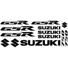 Compatible Kit Stickers Autocollants Moto - Suzuki Gsr 750  Réf.MOTO-139
