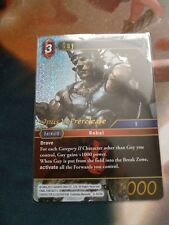 Final Fantasy TCG - Guy - Opus 6 Pre Release Promo Card - FOIL