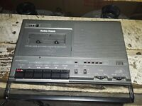 VINTAGE RADIO SHACK/REALISTIC Voice Actuated Cassette Recorder(CTR-69)(14-1154)