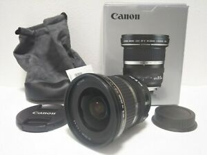 Open Box Canon EF-S 10-22mm f/3.5-4.5 USM wide angle lens Japan #777