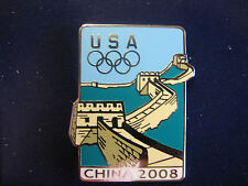 Beijing 2008 Olympic Pin - The Great Wall Of China