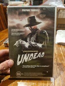 Undead rare classic cult VHS Video