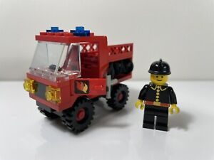 LEGO Vintage Set 6650-1 Fire And Rescue Van Classic Town 1981