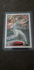 2012 Topps Bryce Harper RC Rookie Card #661 Leg Up Variation SP Phillies Nats